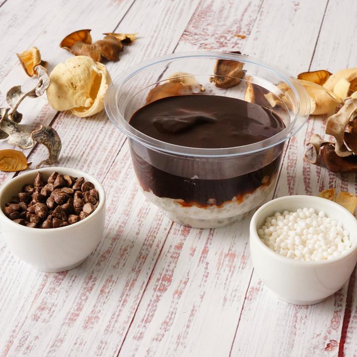 Csokis tápióka
