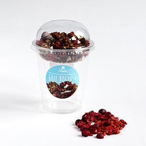 Goji bogyós-áfonyás granola  (45g/150g)