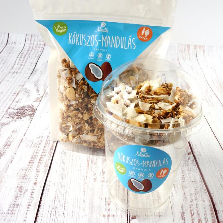 Kókuszos mandulás granola