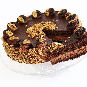 Szilvás csokitorta